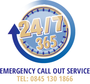 24-7 365 Emergency Call Out Service