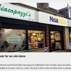 Scottish Local Retailer, Oct 2014