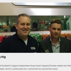 Scottish Local Retailer, Feb 2014
